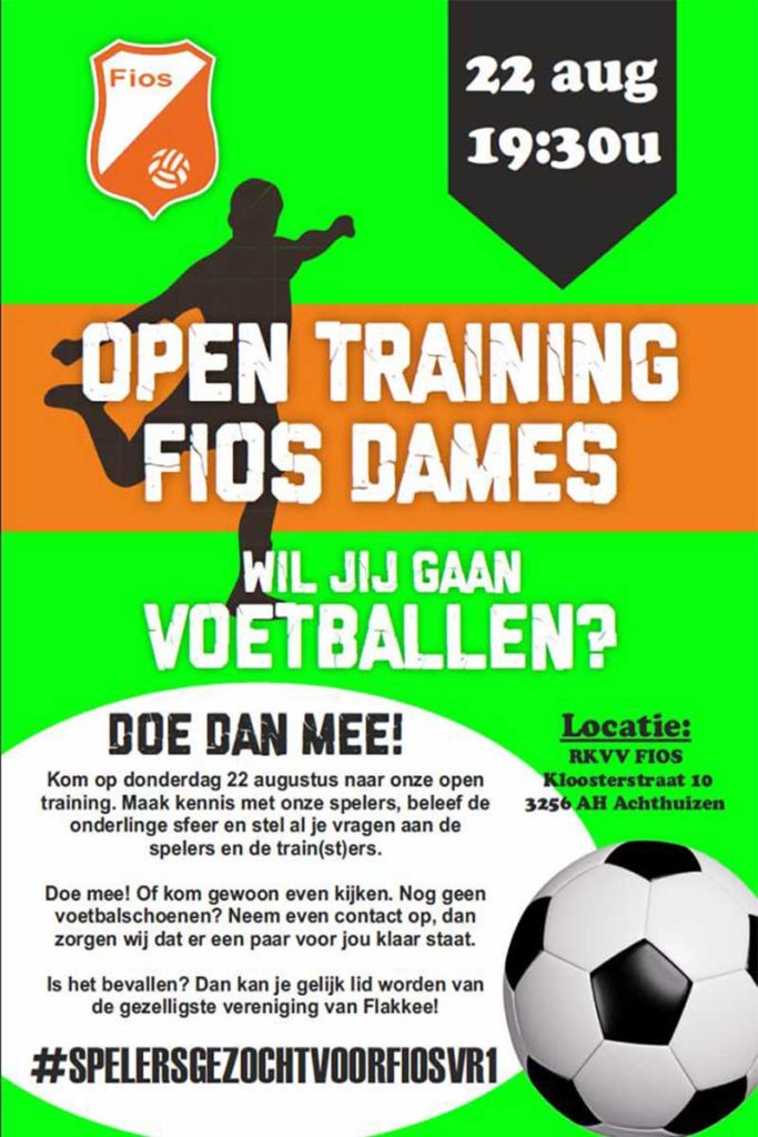 Open Training FIOS Dames